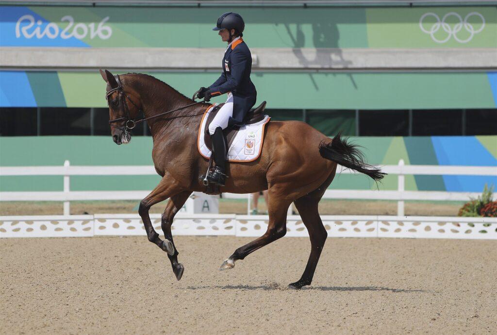 Alice Naber-Lozeman op de Olympische Spelen in Rio in 2016.
