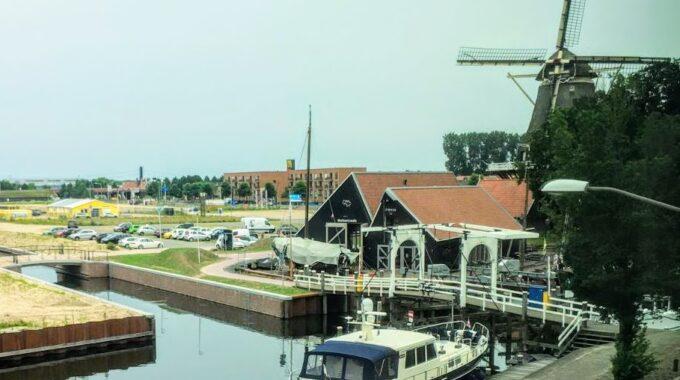 ophaalbrug haven harderwijk brug