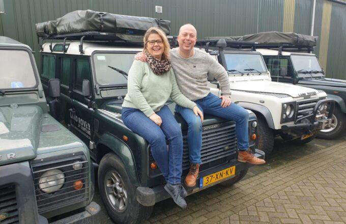 Yvette en Alex Kaper van Adventure Veluwe