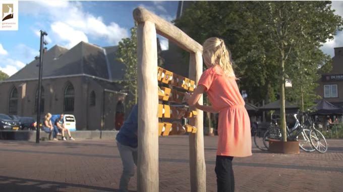 Het vernieuwde Kerkplein en Fontanusplein in Putten