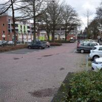 Parkeerplaats nabij de Plus in het centrum van Ermelo