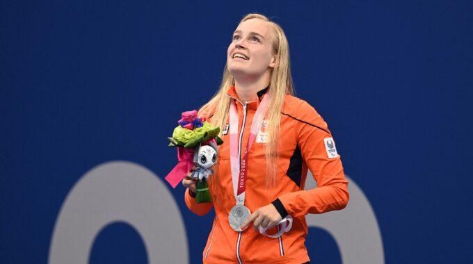Lisa Kruger behaalt zilveren plak tijdens Paralympische Spelen in Tokio.