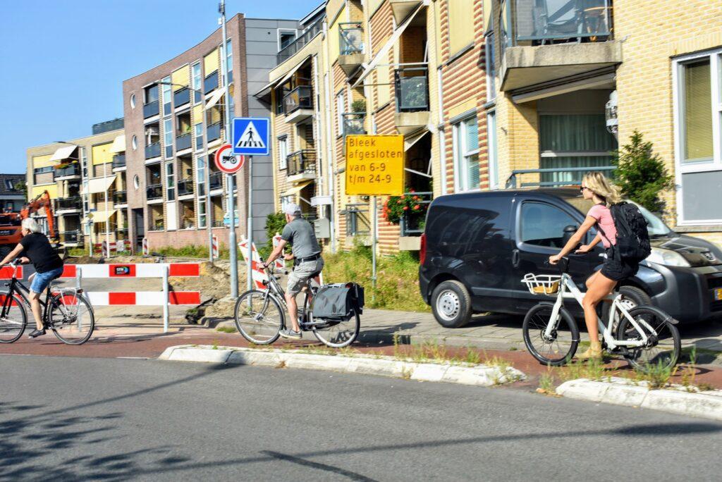 Wegwerkzaamheden in Harderwijk ermelo putten september 2021