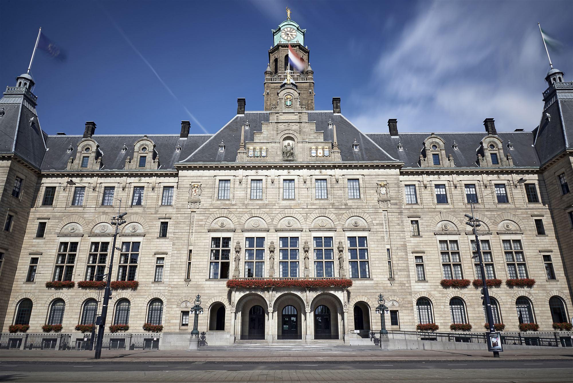 stadhuis rotterdam werk