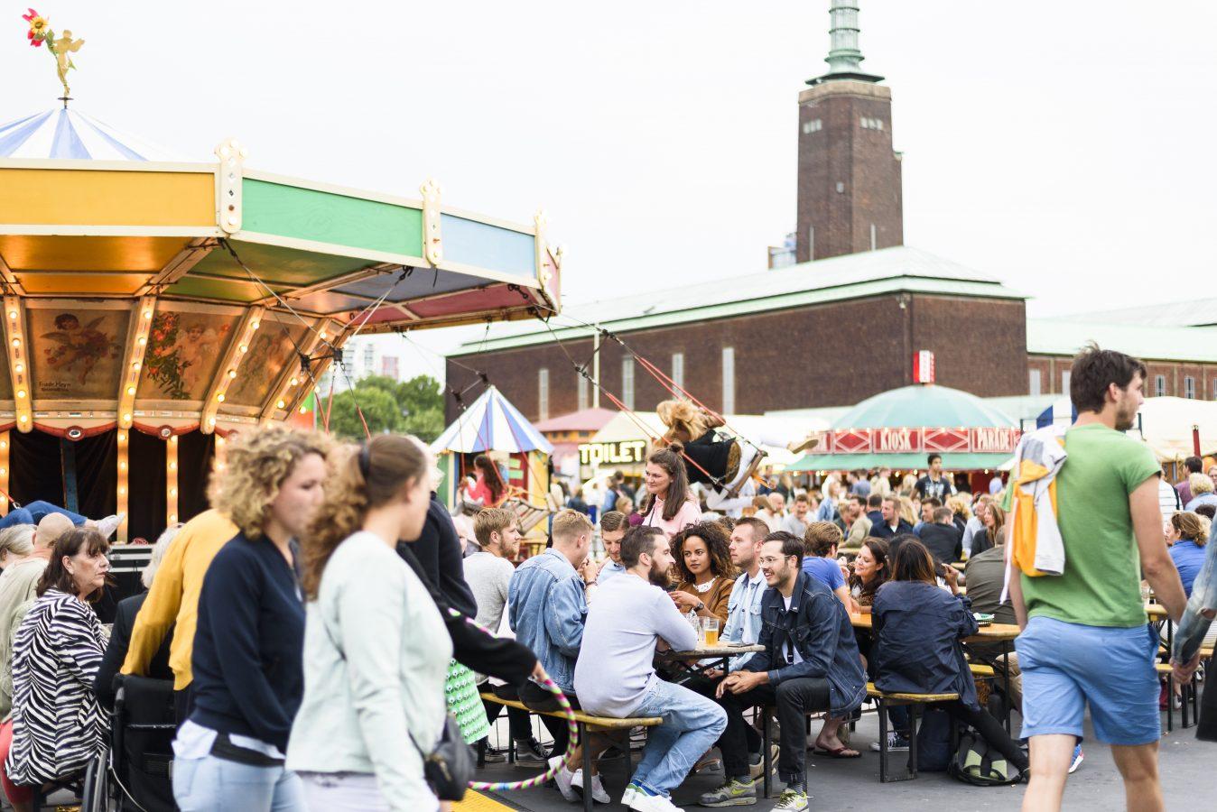 Foodfestival in Rotterdam