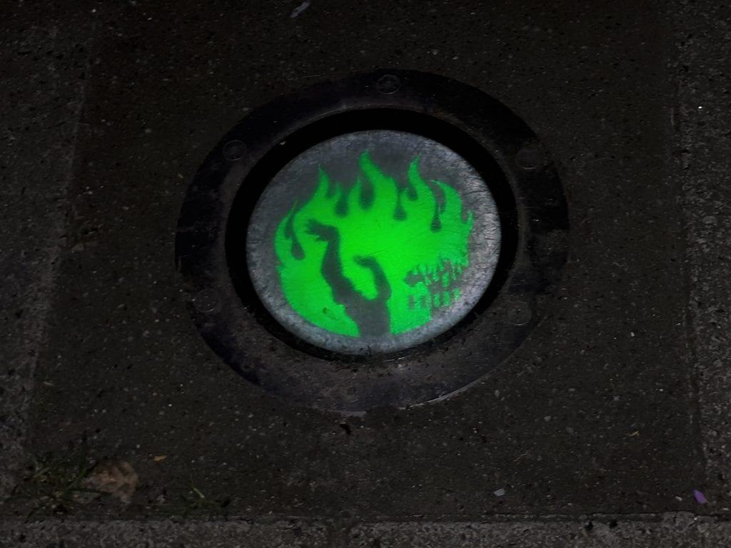 Brandgrens groen