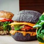 vegan hamburgers