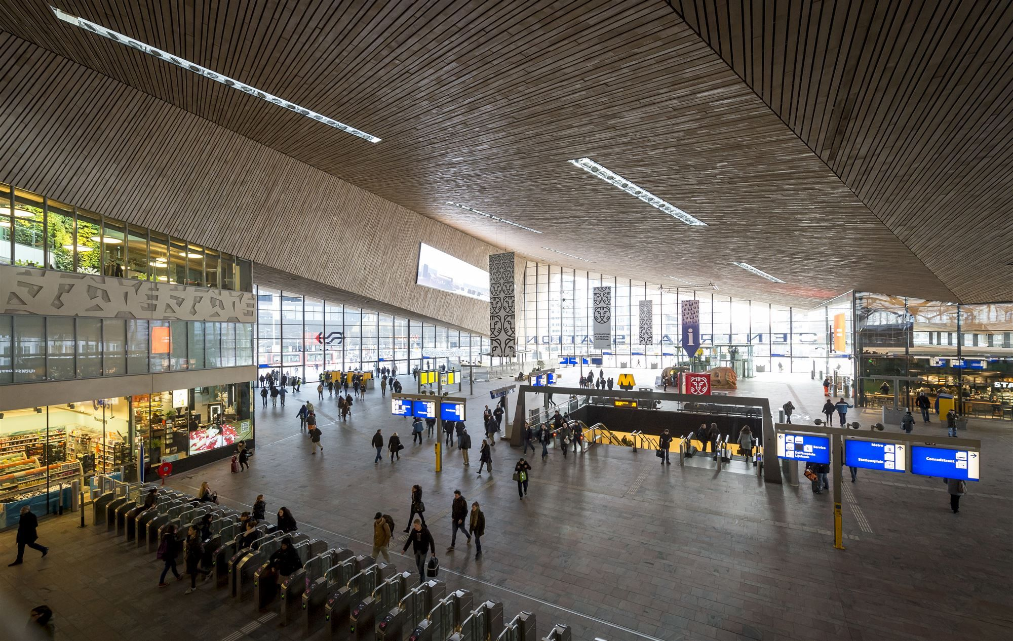 Stationshal Rotterdam Centraal