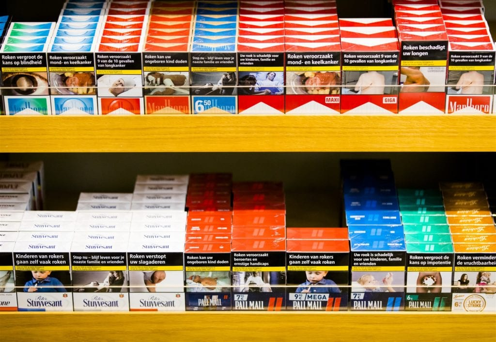 Sigarettenverbod