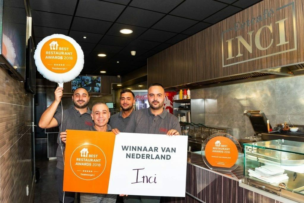 Inci Best Restaurant Awards Thuisbezorgd.nl