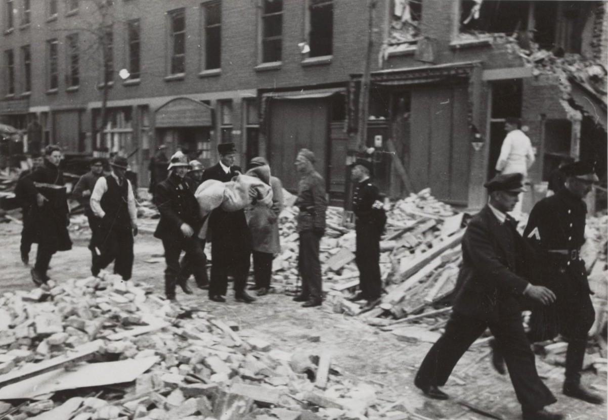Vergeten bombardement Rotterdam-West