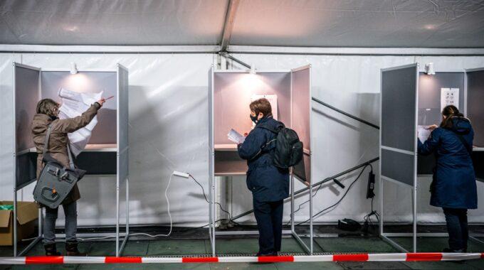 stemmen corona tweede kamerverkiezingen