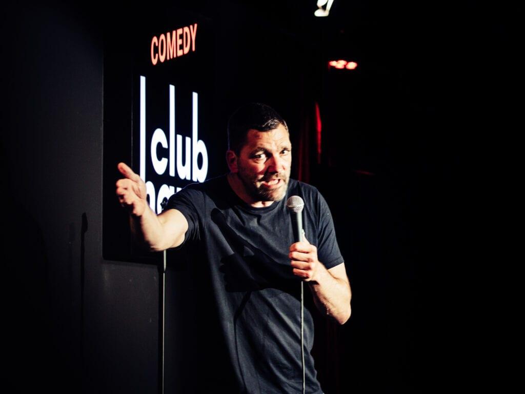Theo Maassen bij Comedy Club Haug
