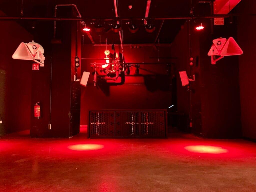 RTM nachtclub van binnen