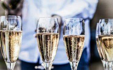 Moët champagne