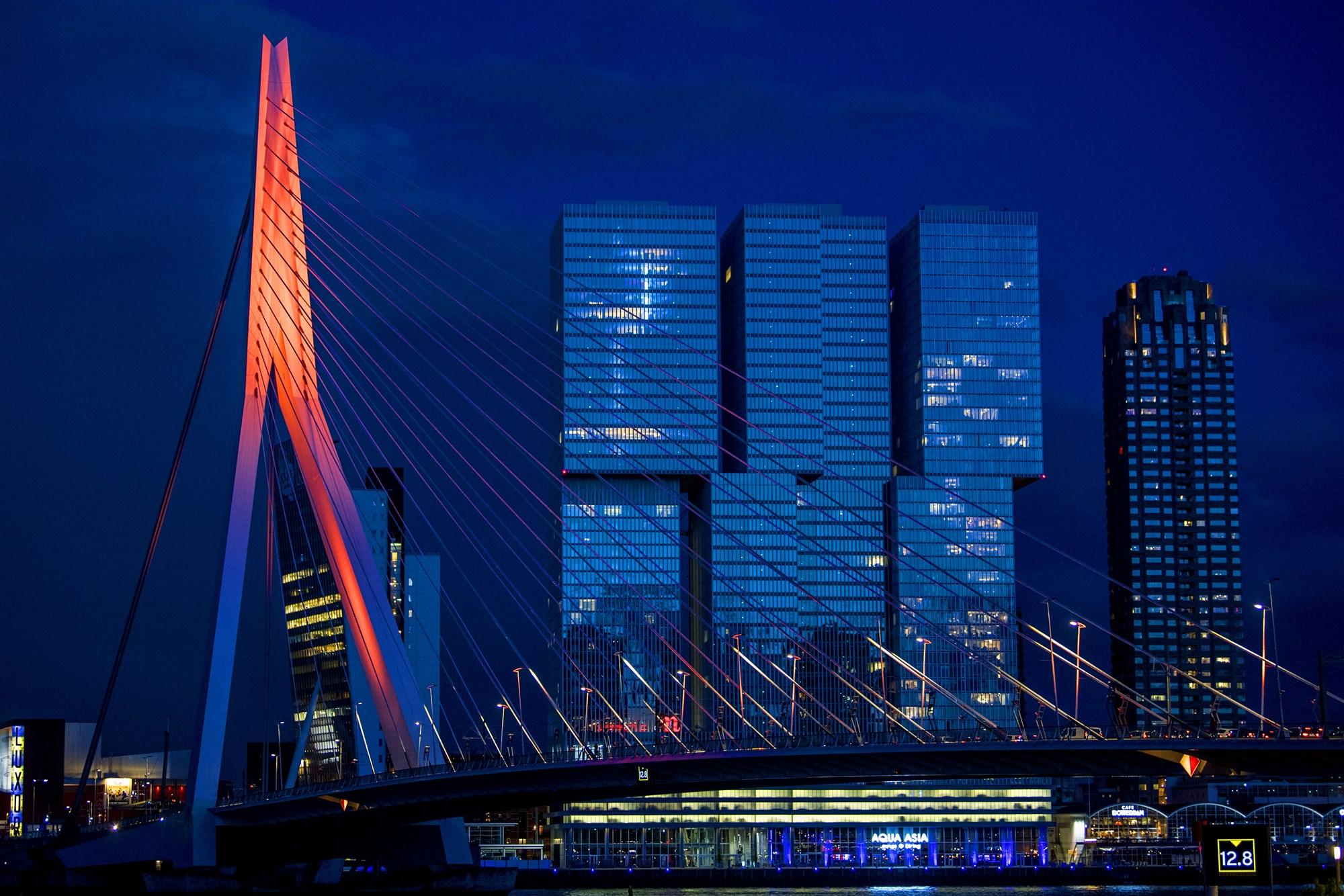 Koningsnacht in Rotterdam