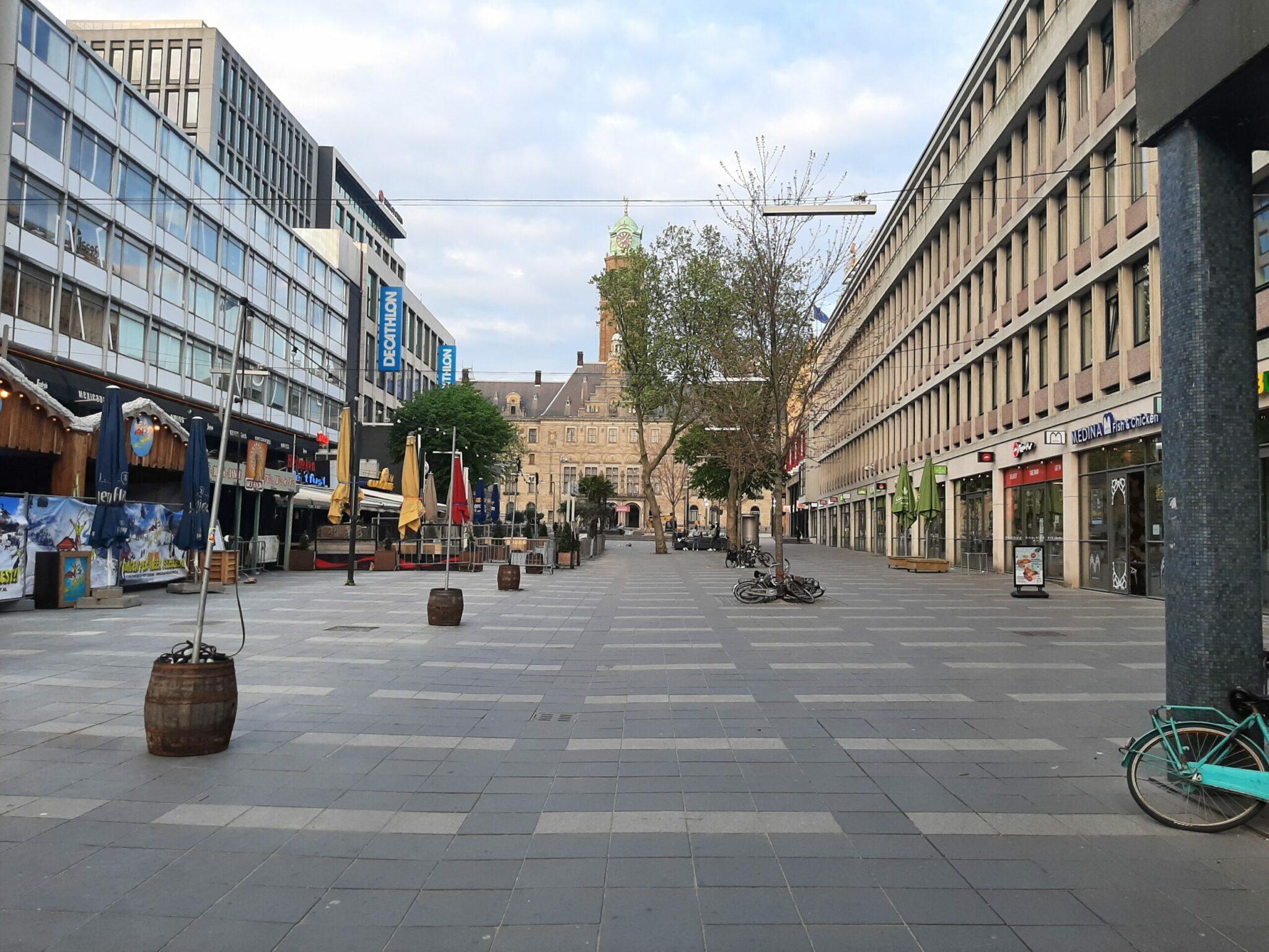 Koningsdag 2020 Rotterdam Stadhuisplein 4