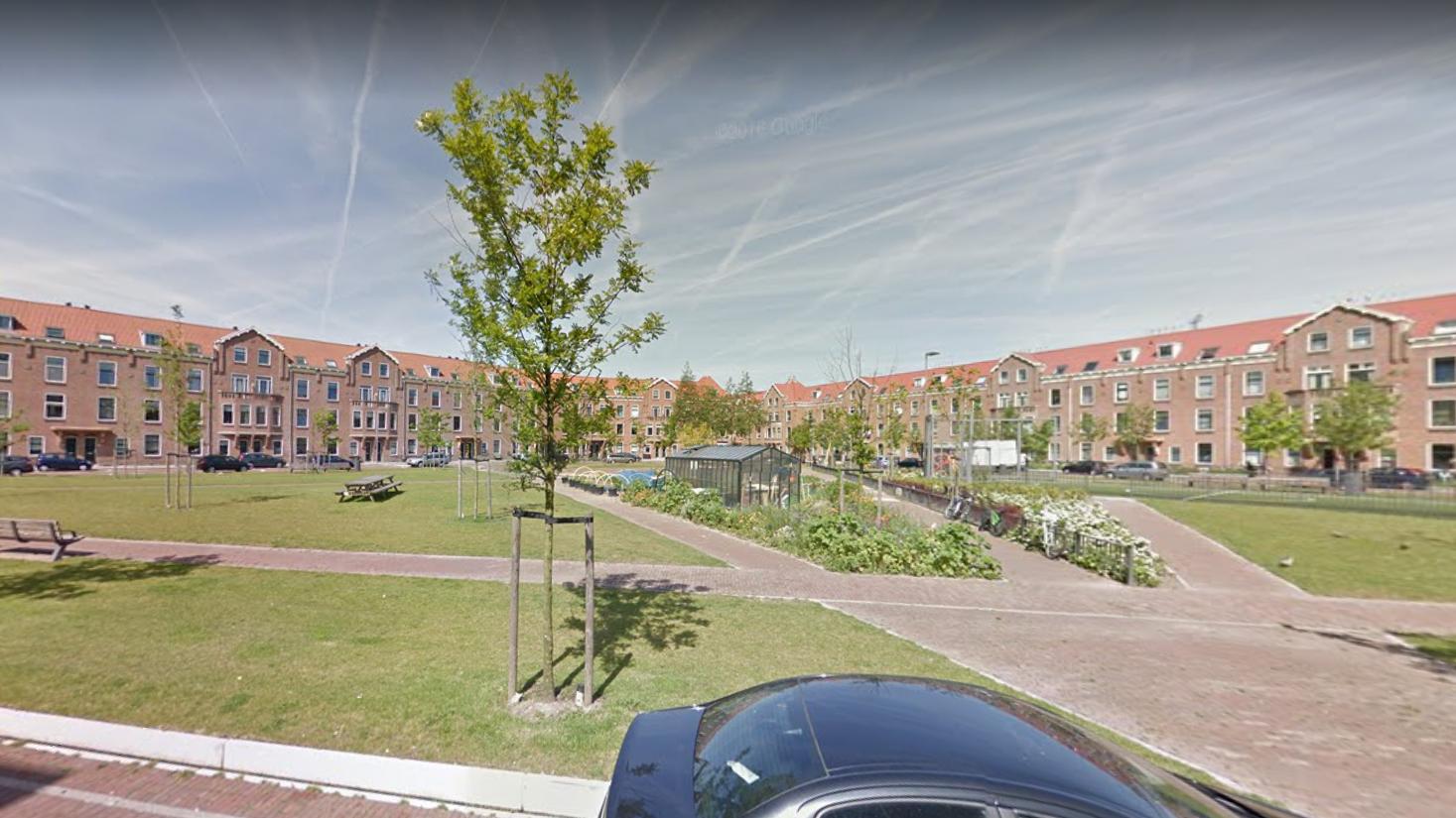 Bellamyplein Rotterdam waterplein