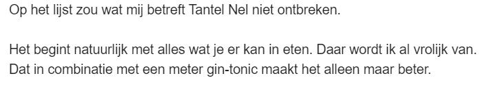 Tante Nel - e-mail