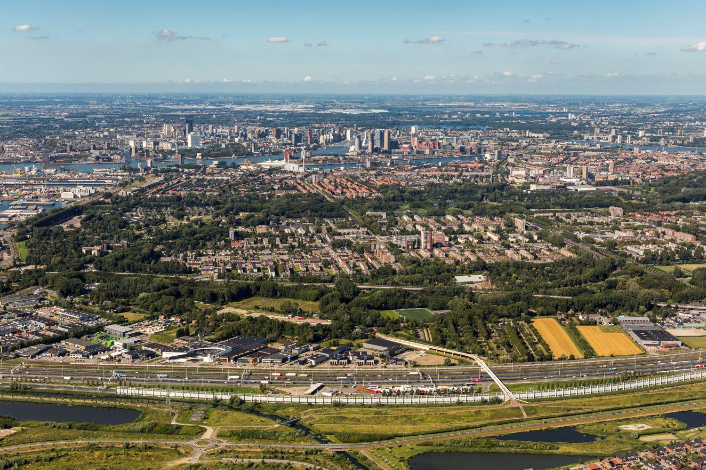 wonen in Rotterdam skyline stad