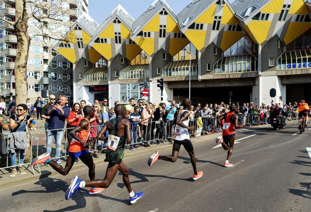 Rotterdamse marathon kubuswoningen ANP