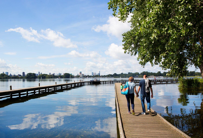 Kralingse bos wandelen Rotterdam