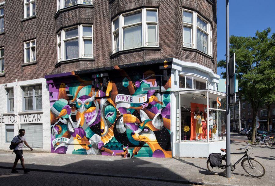 Rotterdam Make it Happen Street Art