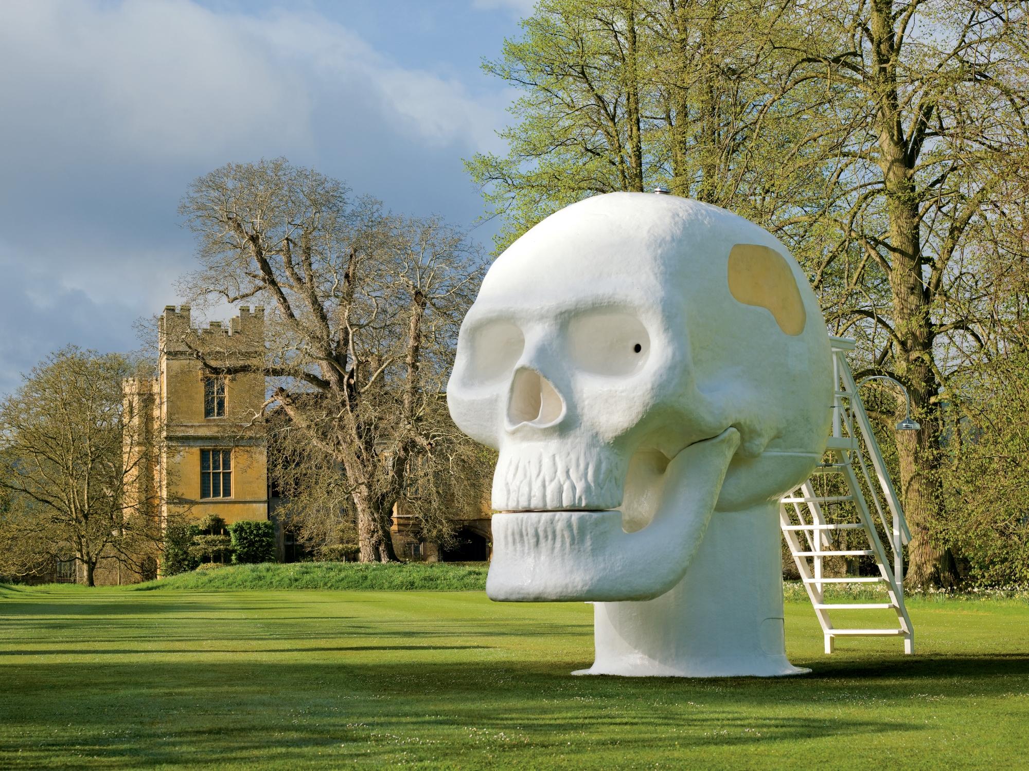 Atelier Van Lieshout, Wellness Skull 2007 - Locatie_ Dakpark