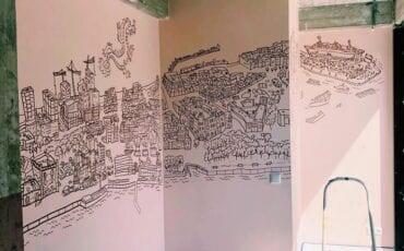 mural jeffrey de bruin - katendrecht