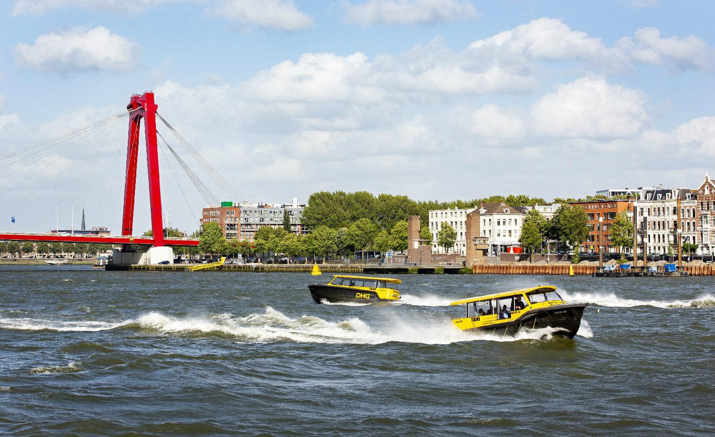 Willemsbrug Rotterdam - foto Iris van den Broek