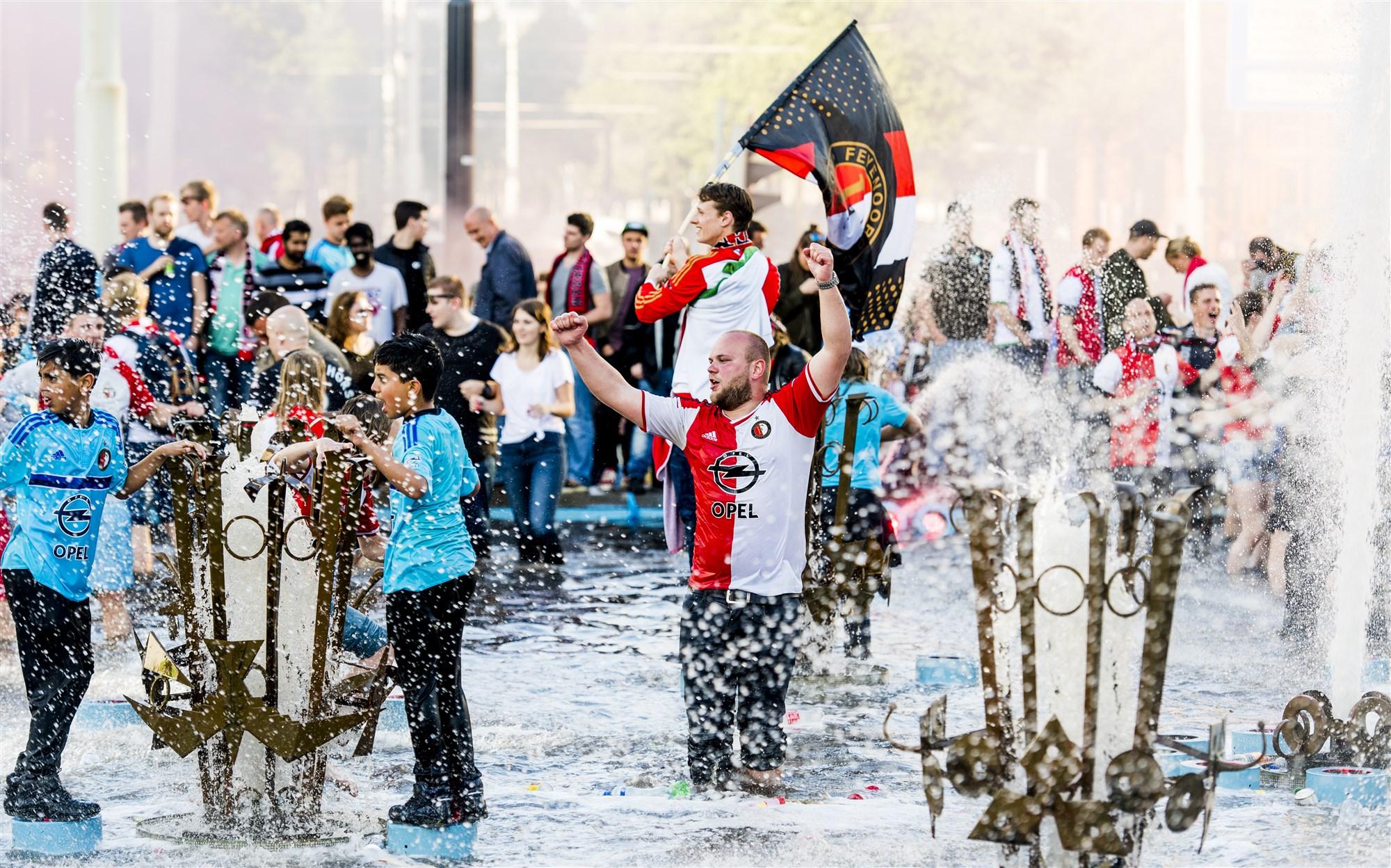 Feyenoord kampioen Hofplein