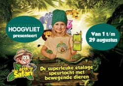arie op safari winkelcentrum Hoogvliet