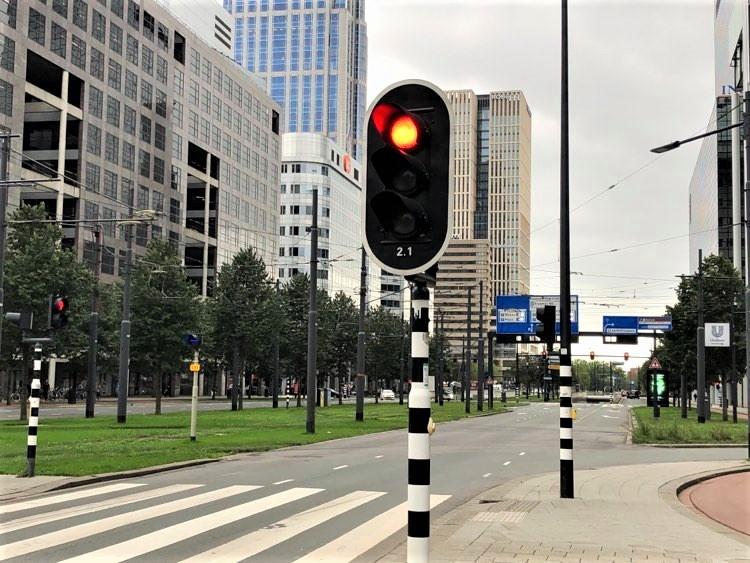 verkeerslicht rotterdam stoplicht weena