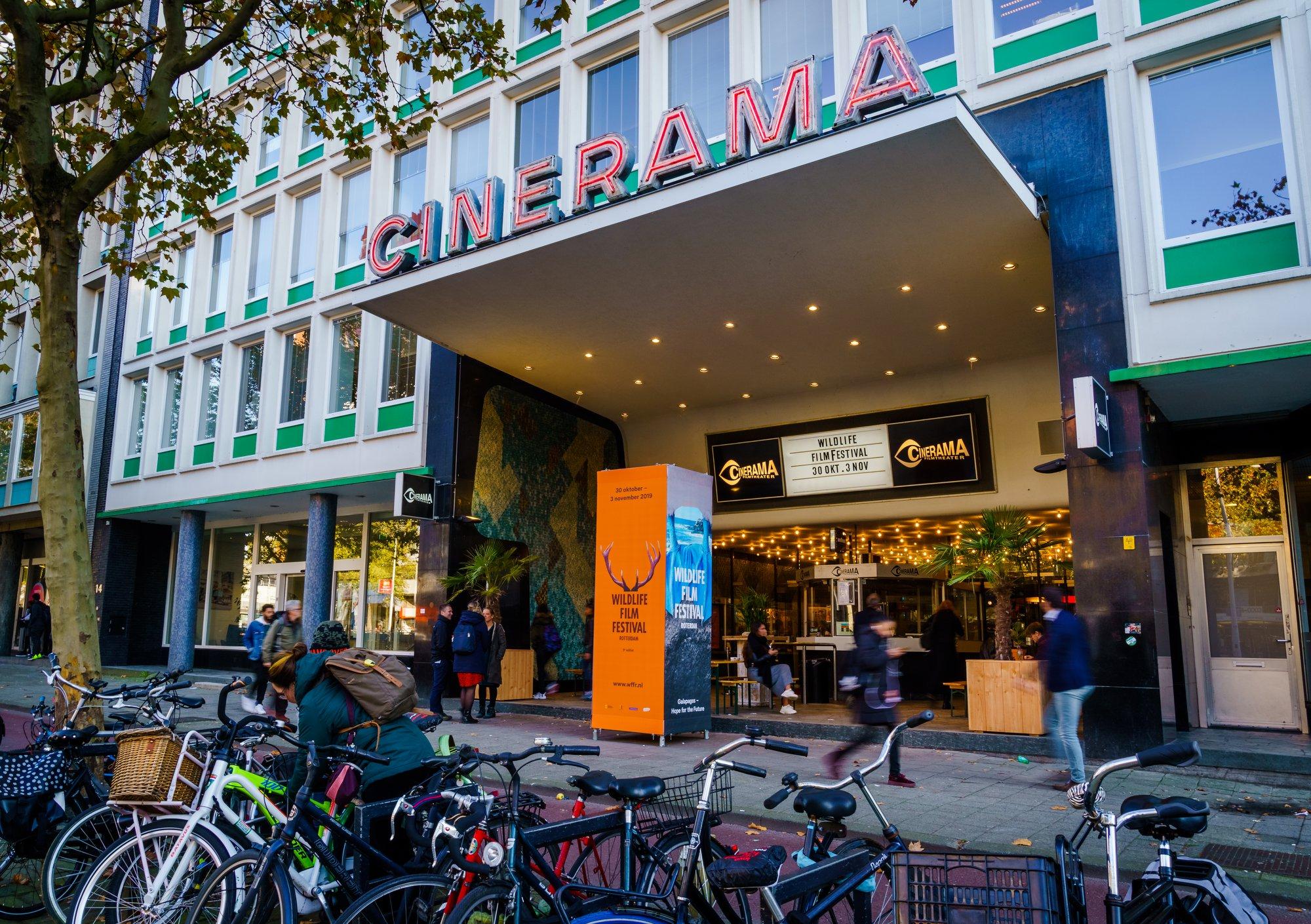 Wildlife Film Festival Rotterdam 2019 in Cinerama - Foto: WFFR