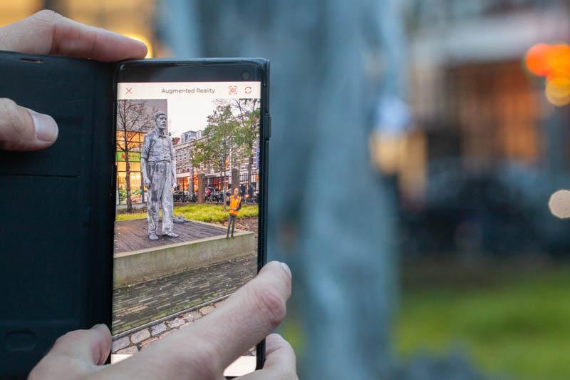 App Bomendokter hologram wandelen Rotterdam