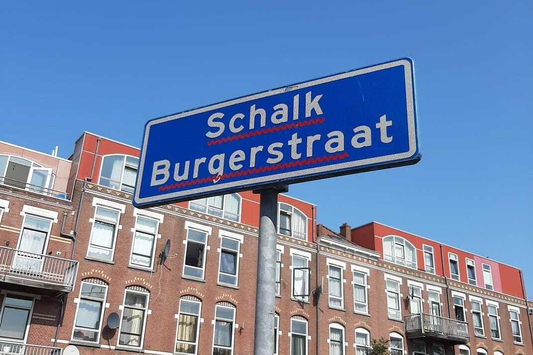schalk_burgerstraat_rotterdam straatnaambord