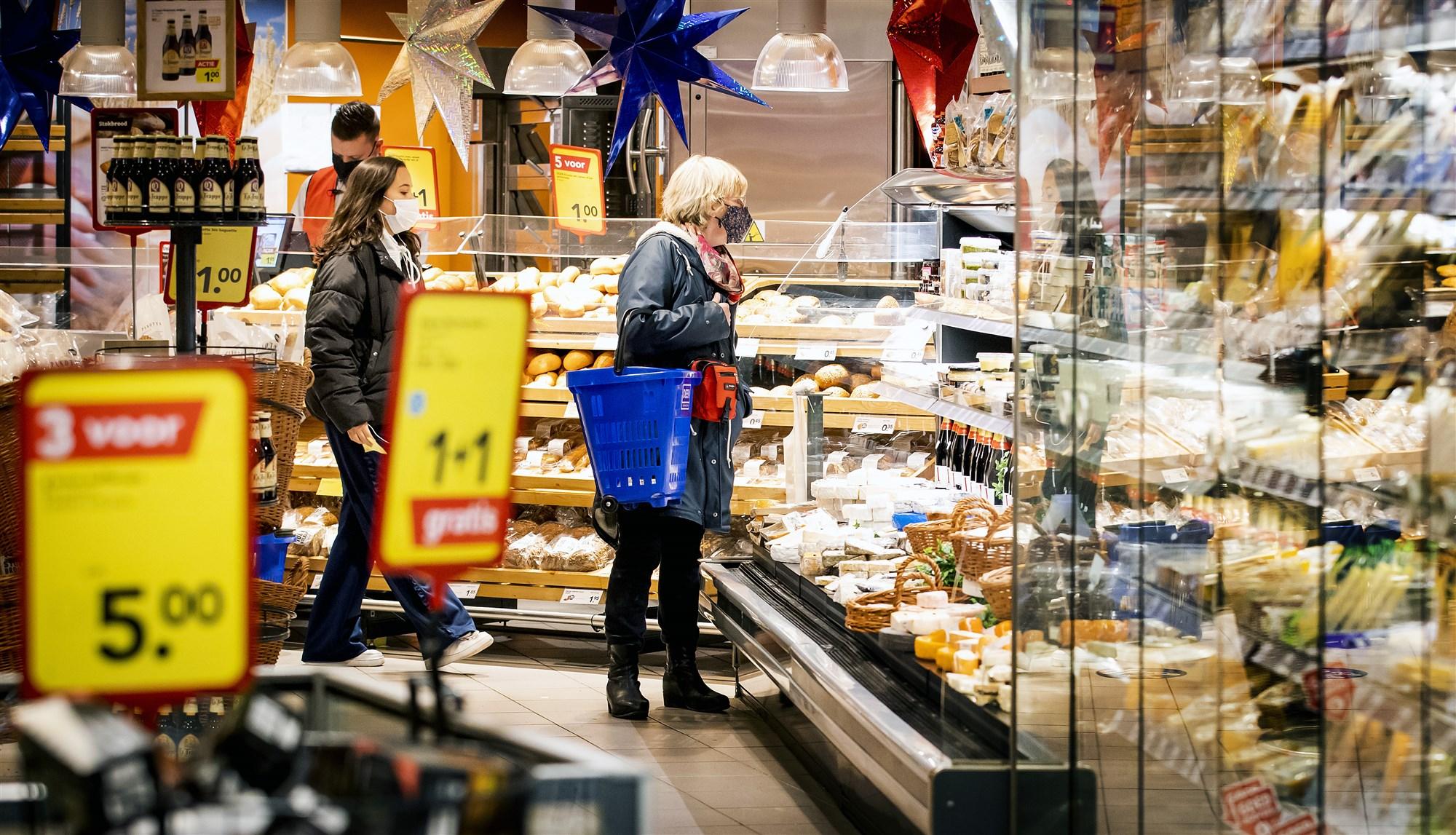 Supermarkt oud en nieuw: Foto ANP