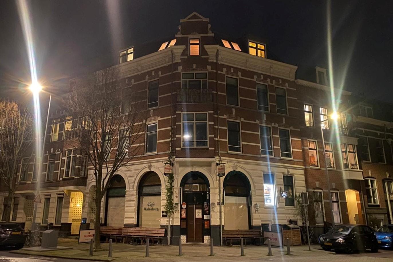 Café Walenburg Rotterdam dicht