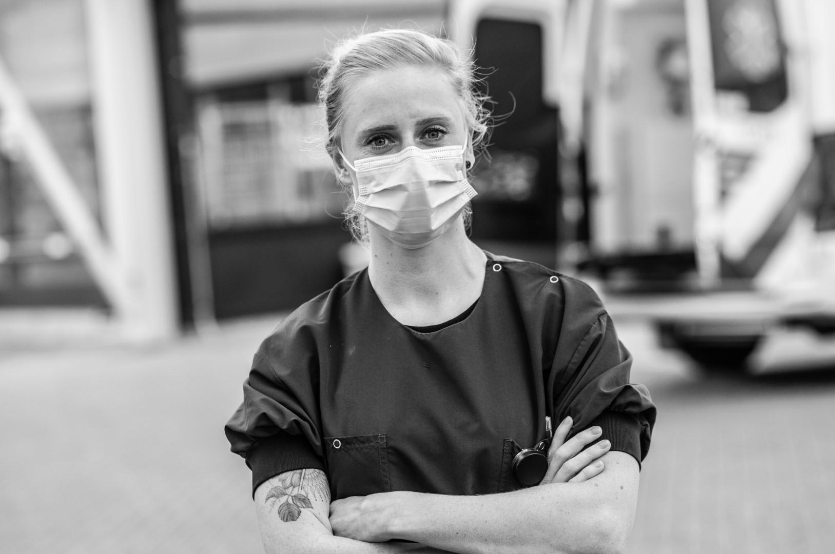 Anne SEH-verpleegkundige corona Achter het Masker Franciscus Gasthuis en Vlietland