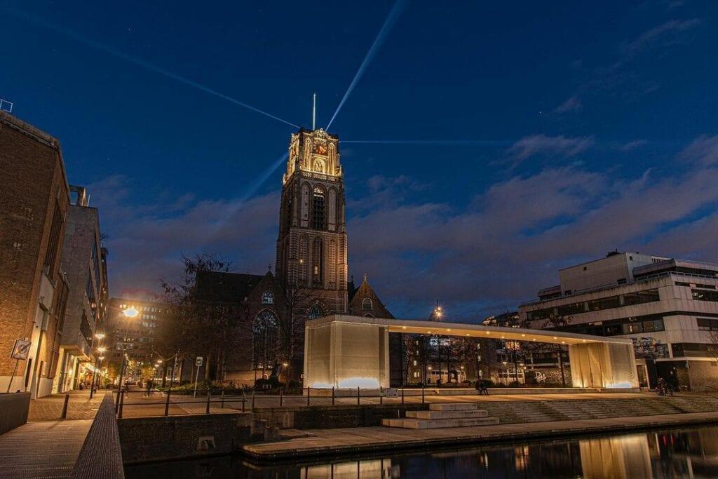 Laurenskerk Rotterdam Verlicht