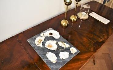 binnenkijken bij rosalieke oesterschelpen
