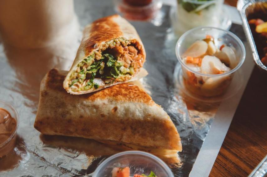 burrito's van Alfredo's Taqueria