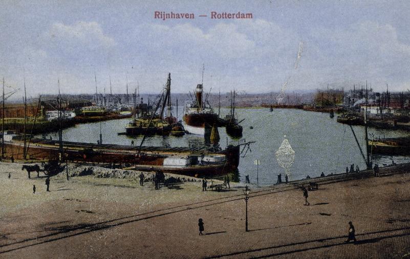 Rijnhaven in 1900
