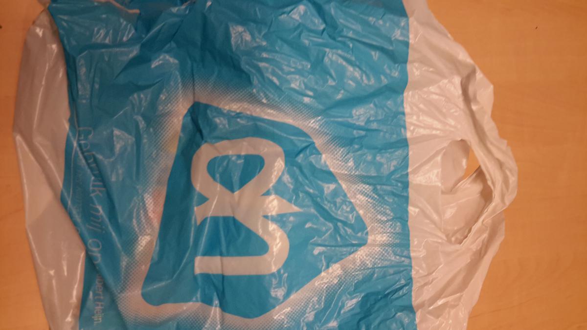 Albert Heijn plastic zak