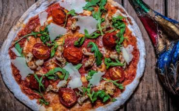 Pizza van restaurant O'Pazzo