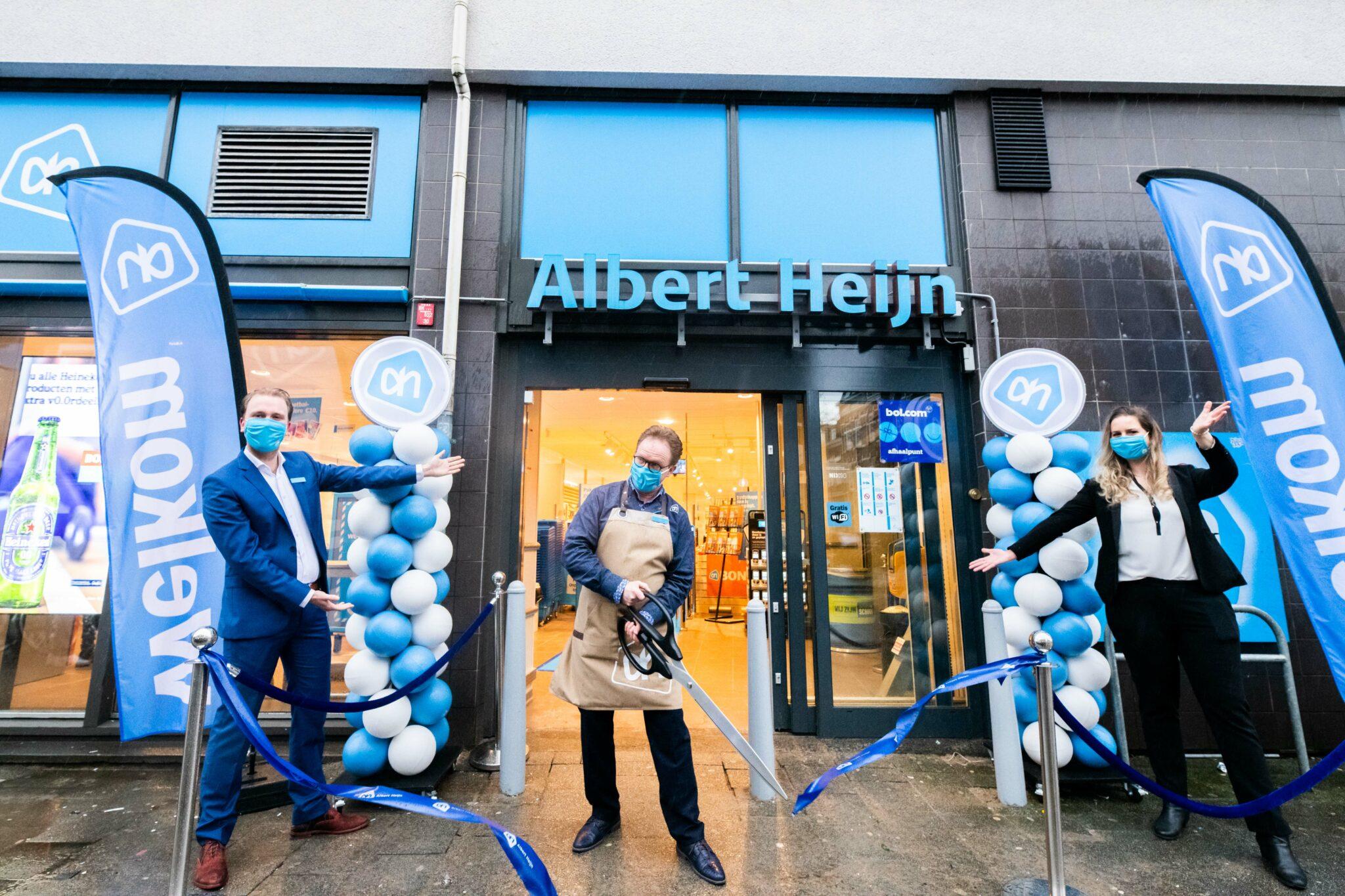 AH Benthuizerstraat is weer open foto - Albert Heijn Nicole Ermen