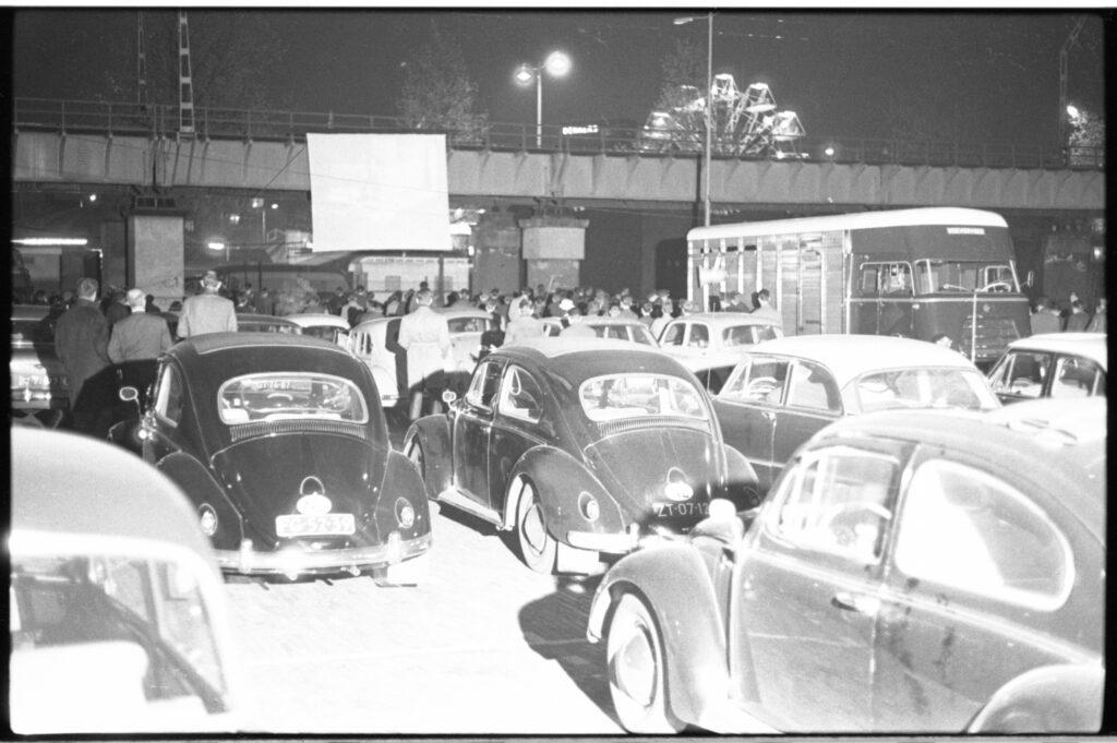 Drive-in bioscoop in 1963