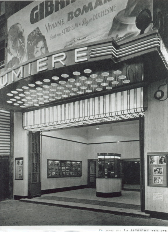 Bioscoop Lumiere in 1937