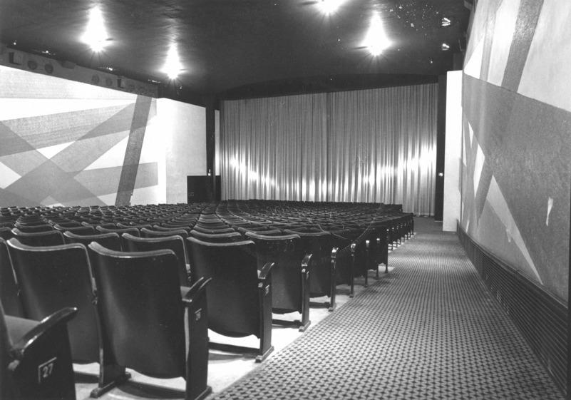 Bioscoopzaal in Cineac in 1984