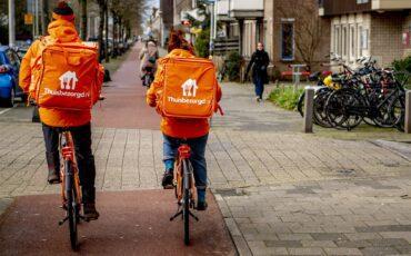 thuisbezorgd fietsers